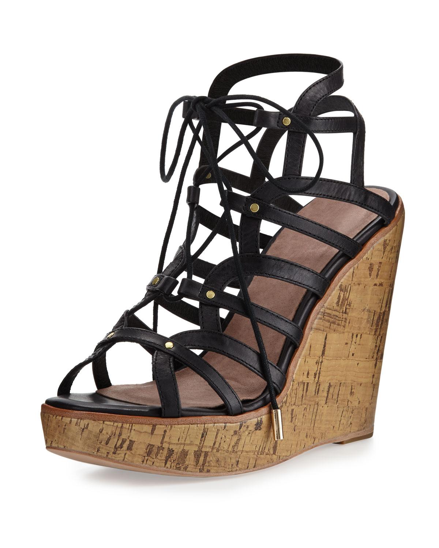 40bfc6393c31 Joie Larissa Gladiator Wedge Sandals