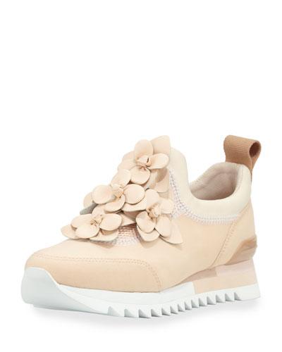 Blossom Neoprene Sneaker, Blush
