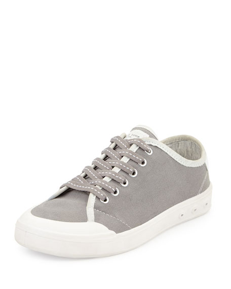 Rag & BoneStandard Issue Canvas Lace-Up Sneaker, Gray