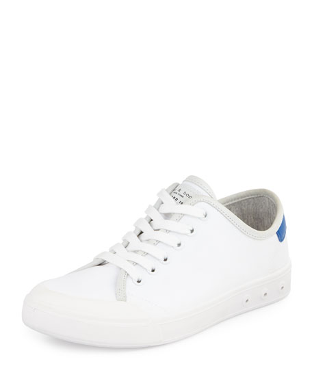 Rag & BoneStandard Issue Canvas Lace-Up Sneaker, White/Blue