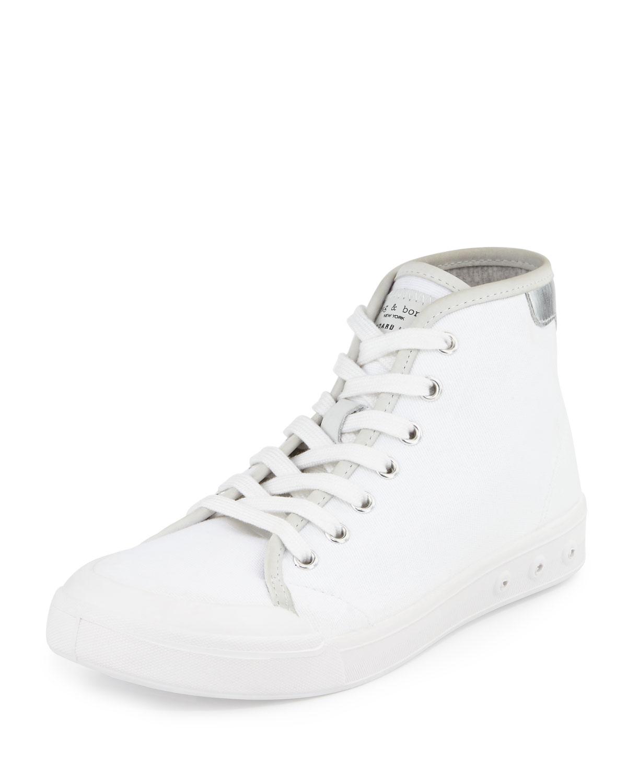 Rag & Bone Embossed High-Top Sneakers buy cheap fashionable 8cBSyFc6