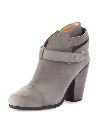 Harrow Suede Ankle Boot, Granite