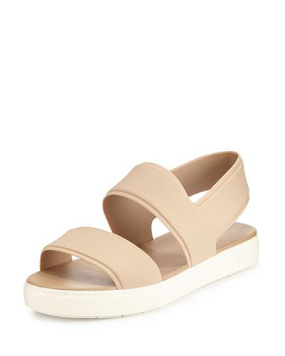 Eres Waterproof Rubber Slingback Sport Sandal, Sand