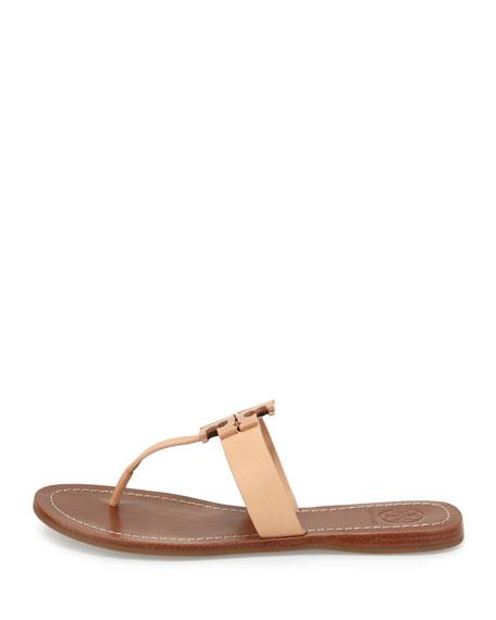 Moore 2 Leather Thong Sandal, Light Oak