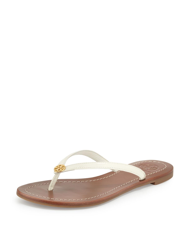 f9b32e35f9c4c3 Tory Burch Terra Patent Thong Sandal