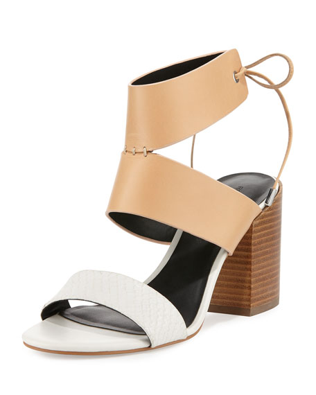 cheap sale cheapest price Rebecca Minkoff Leather Slingback Sandals low price cheap price outlet real cheap with credit card cheap 100% authentic ZnXng