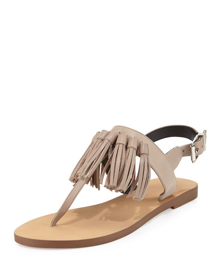 recommend online Rebecca Minkoff Leather Fringe Sandals with credit card cheap price pay with visa cheap online buy cheap for cheap SoCMwtJ
