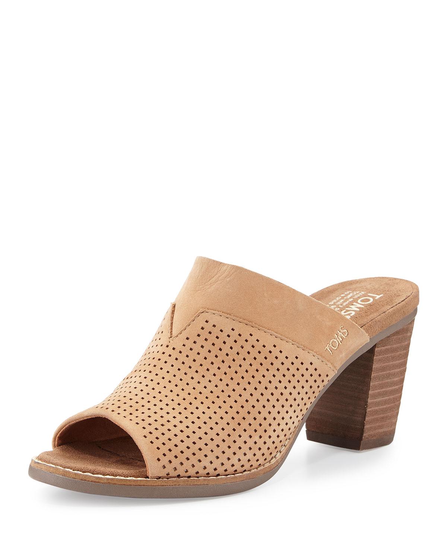 110453b50c4 TOMS Majorca Perforated Mule Sandal