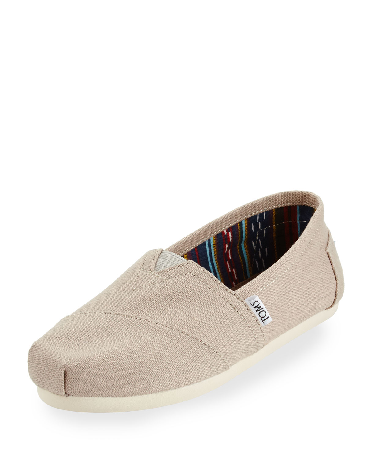 TOMS Classic Alpargata Printed Slip-On Shoe