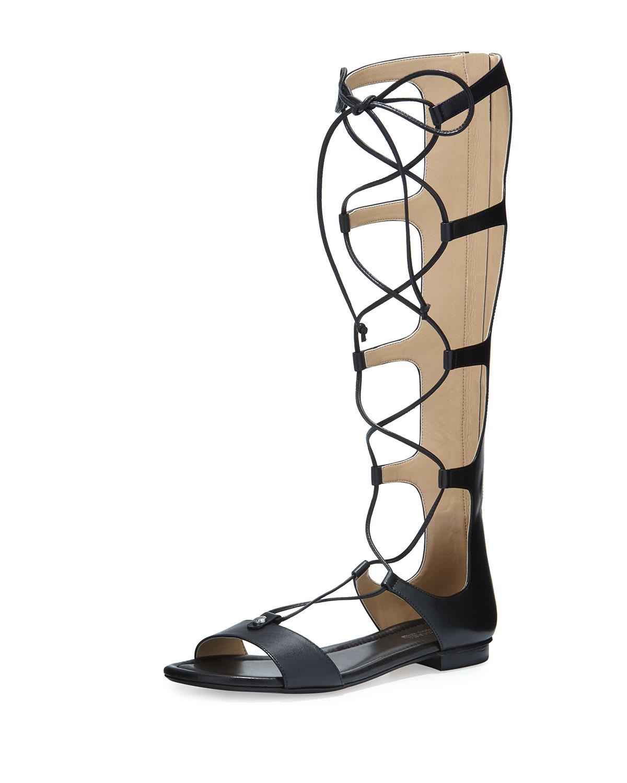 6b6705ffdd6d MICHAEL Michael Kors Sofia Tall Flat Gladiator Sandals