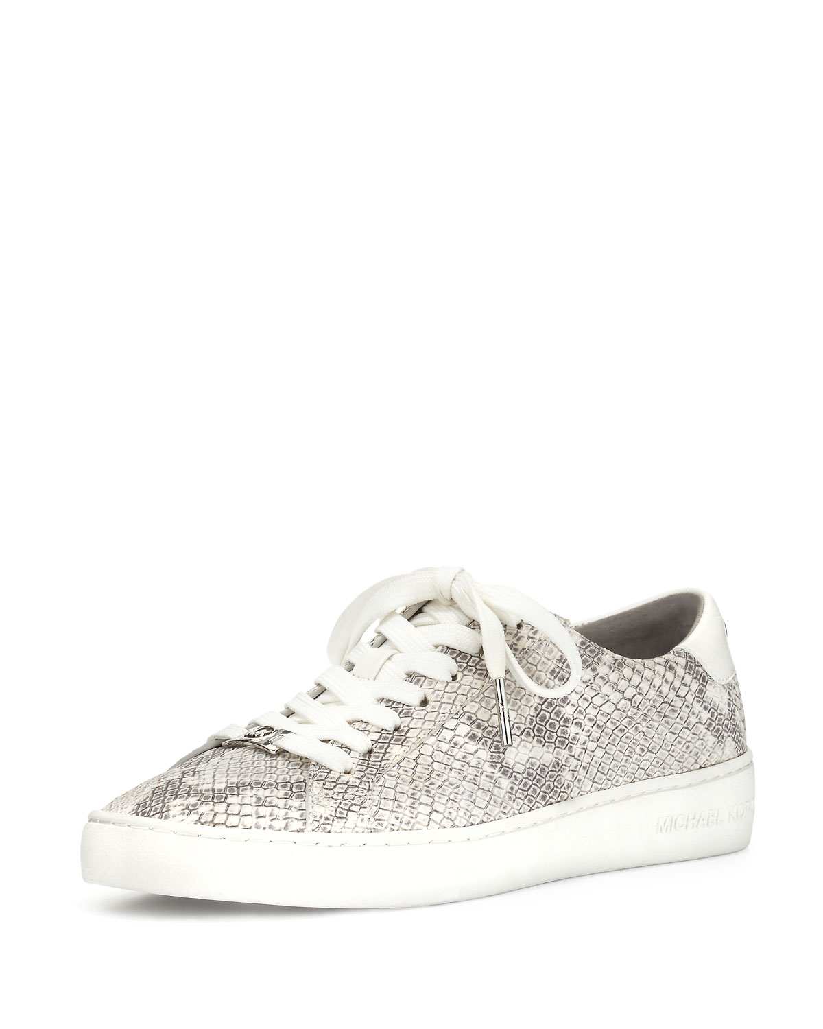 MICHAEL Michael Kors Irving Snake-Embossed Low-Top Sneaker 347dbf6d0