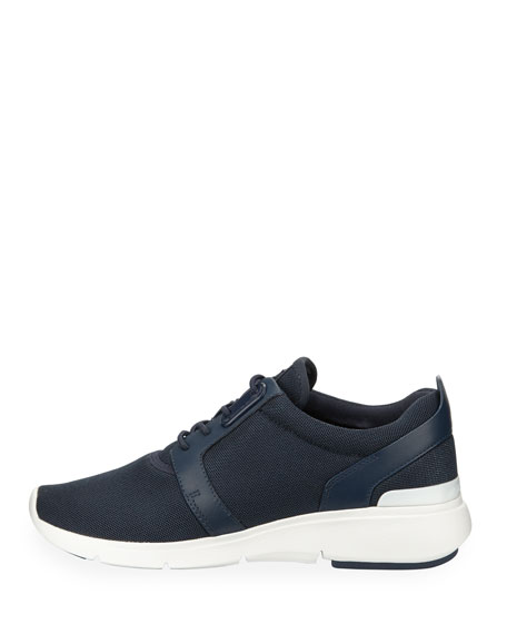 Amanda Mesh Trainer Sneaker, Navy