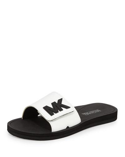 MK Sport Slide Sandal, Optic White