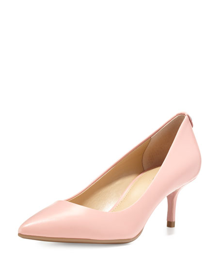 MICHAEL Michael Kors MK-Flex Mid-Heel Pump, Pale Pink