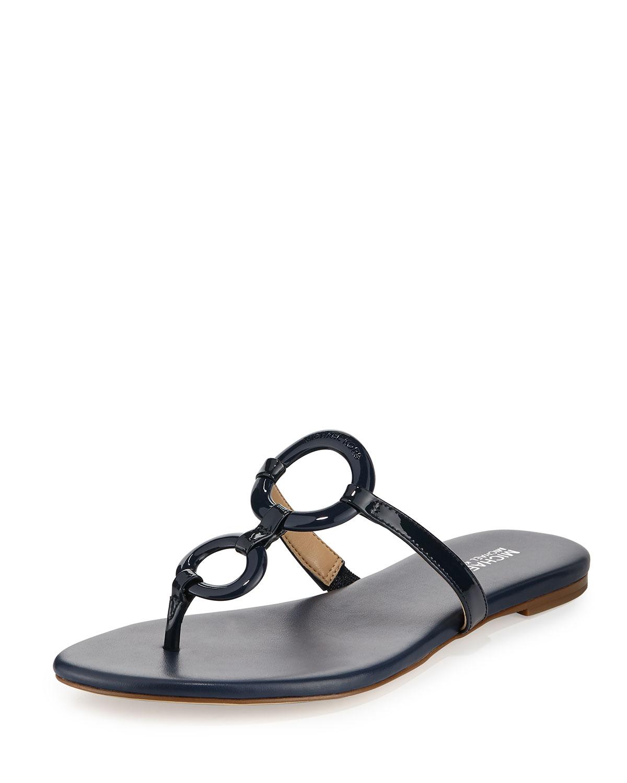 8dba62cfe MICHAEL Michael Kors Claudia Ring Flat Thong Sandal