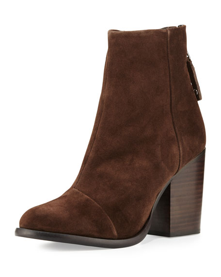 Rag & Bone Ashby Suede Ankle Boot, Brown