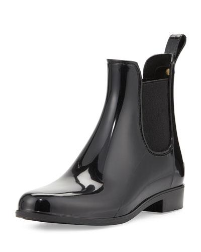 Tinsley Chelsea Rain Boot, Black