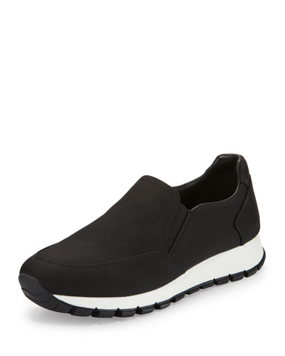 Designer Slip On Sneakers at Neiman Marcus - prada shoulder bag argento+nero+bianco