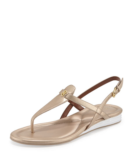 Cole Haan Violette II Leather T-Strap Sandal, Soft