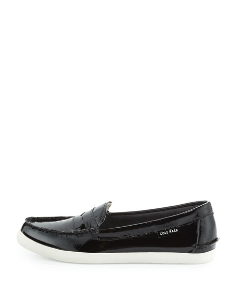 Pinch Weekender Patent Loafer, Black