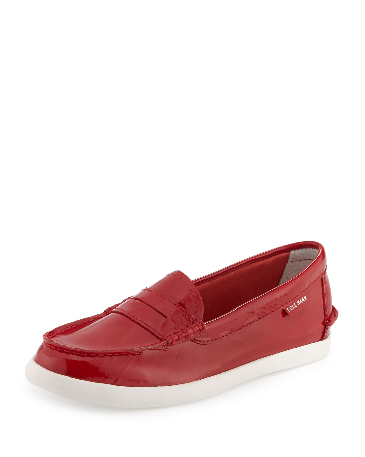 111911390b Cole Haan Pinch Weekender Patent Loafer, Red | Neiman Marcus