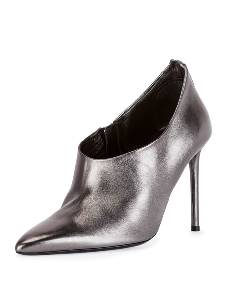 TOM FORD Pointed-Back 105mm Bootie, Gunmetal