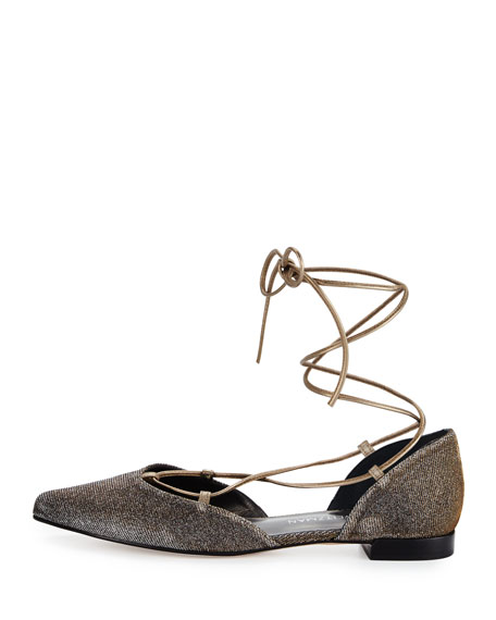 Gilligan Lace-Up d'Orsay Flat, Pytite Nocturnal