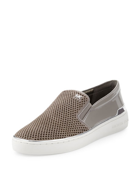 258c58317fac1 MICHAEL Michael Kors Kyle Perforated Suede Slip-On Sneaker