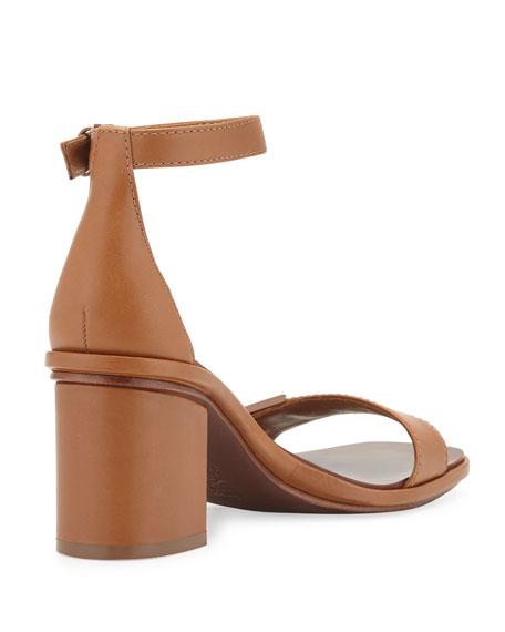 Tory Burch Gabrielle Leather City Sandal, Royal Tan