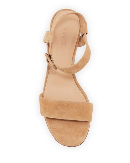 Rena Suede City Sandal, Sand