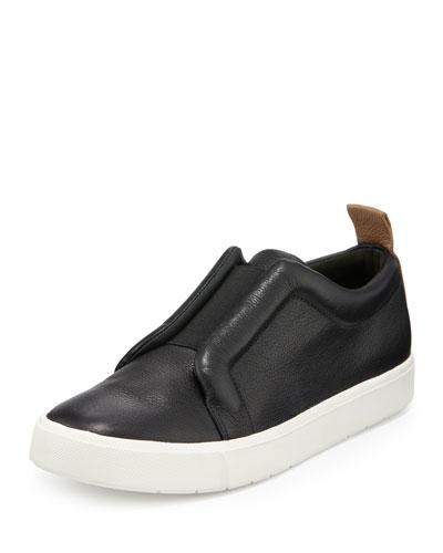 Caden Colorblock Slip-On Sneaker, Black
