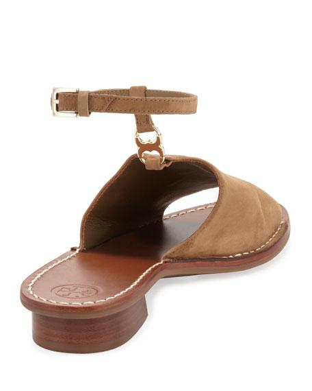 46e2feab5db Tory Burch Gemini Link Ankle-Wrap Sandal