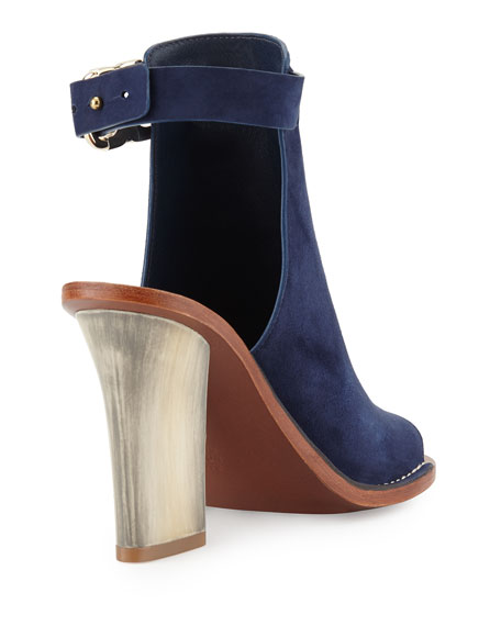 Gemini Link Open-Toe 100mm Bootie, Royal Navy