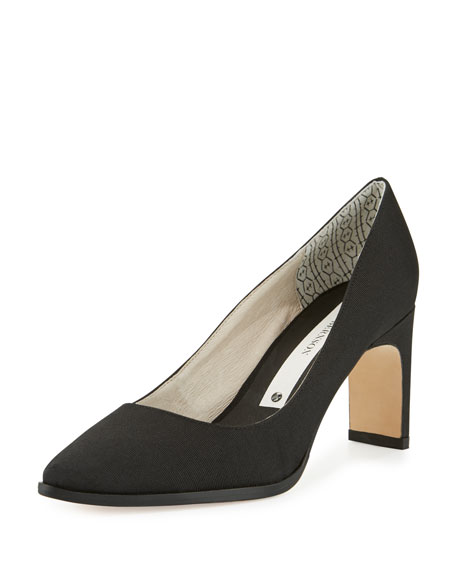 Matt Bernson Royale Pointed-Toe Pump, Black