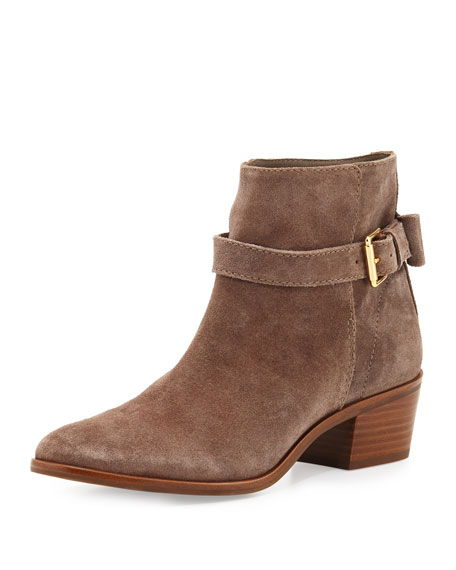 taley slouchy suede bootie, Mouse
