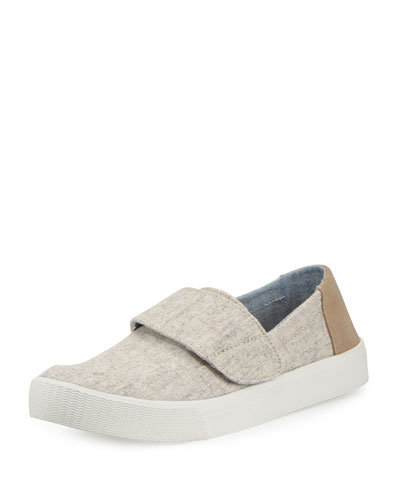 Altair Wool & Suede Slip-On Sneaker, Oatmeal