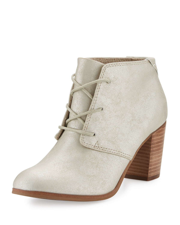 9ba34da0ffd TOMS Lunata Faux-Leather Ankle Boots