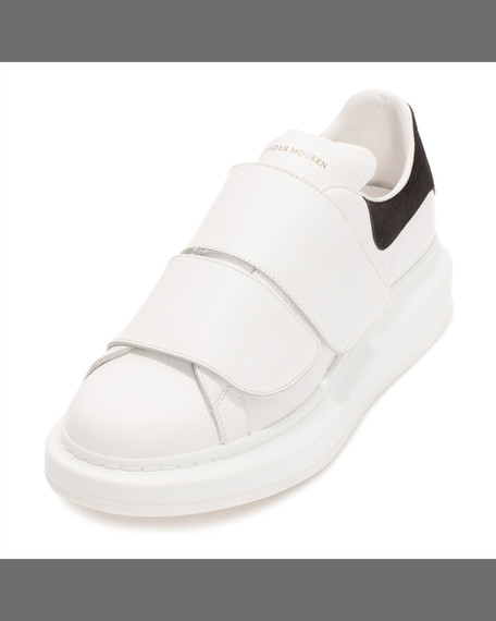 Alexander McQueenGrip-Strap Low-Top Sneaker