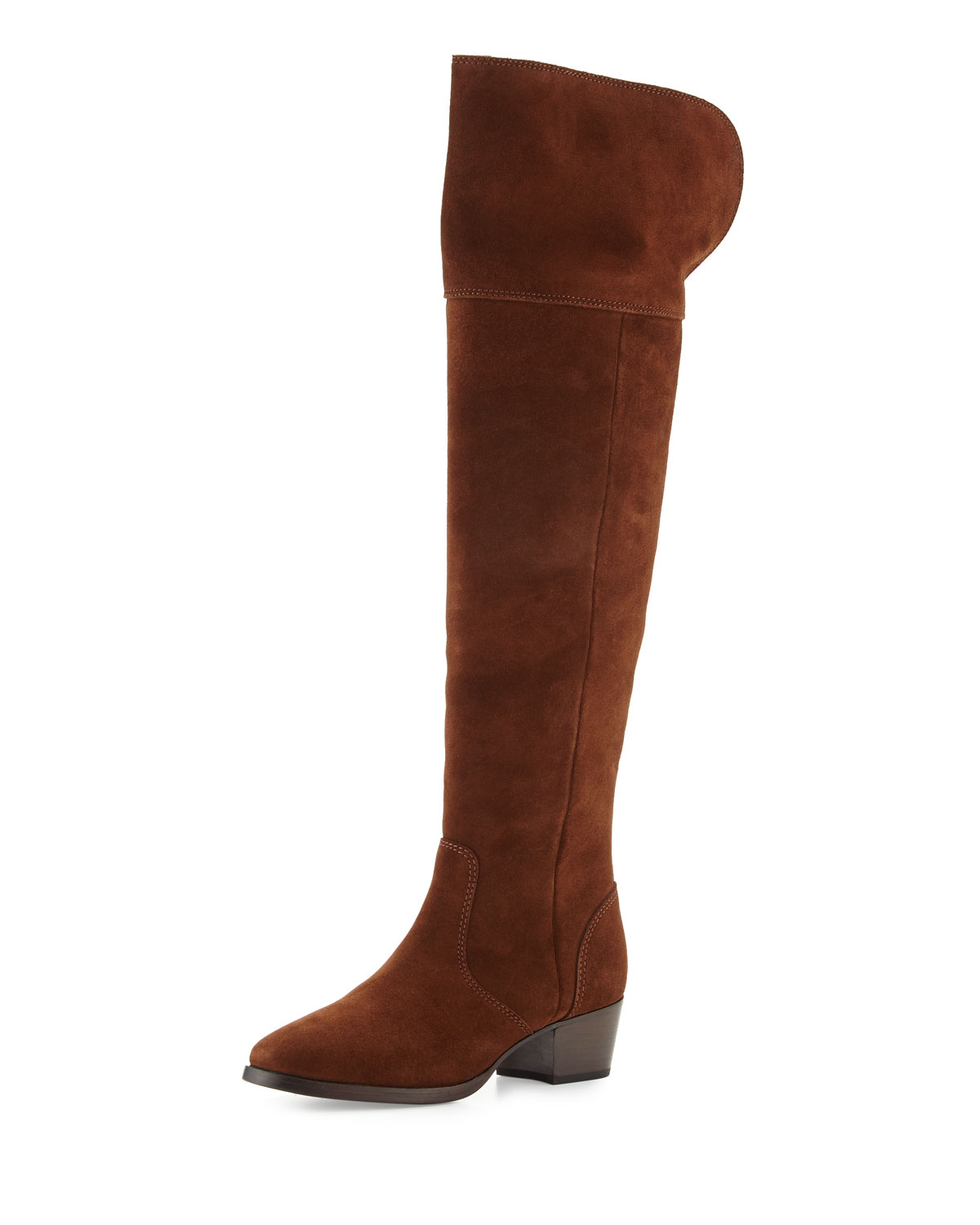 b082012bcbd Frye Clara Suede Over-The-Knee Boots