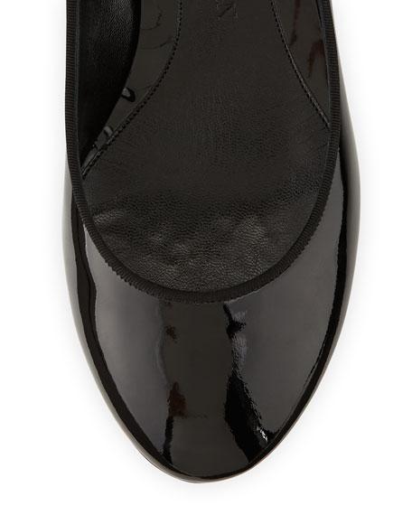 Patent Ankle-Wrap Skull Pump, Black