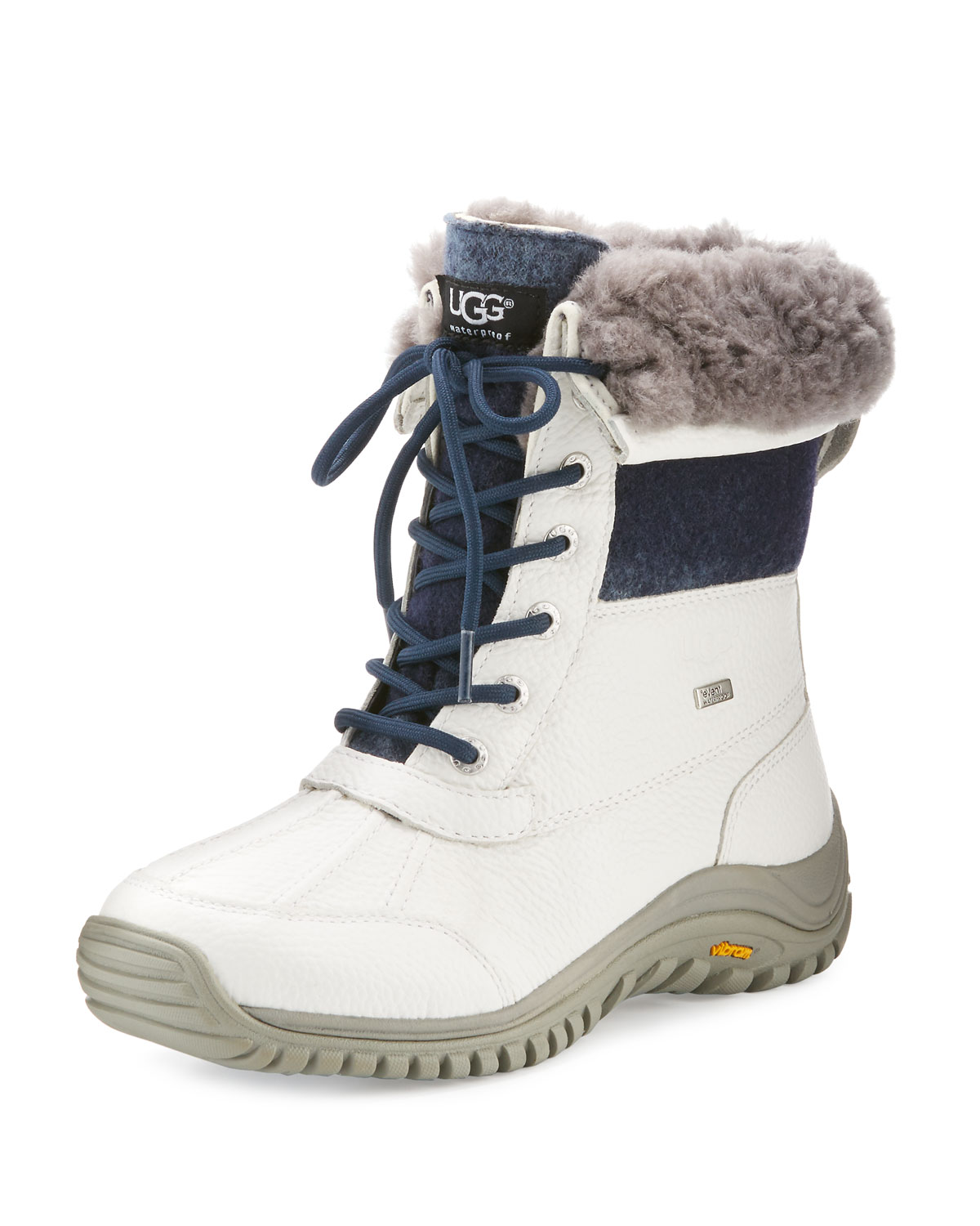 0670f2fb868 Adirondack II Leather Hiker Boot, White