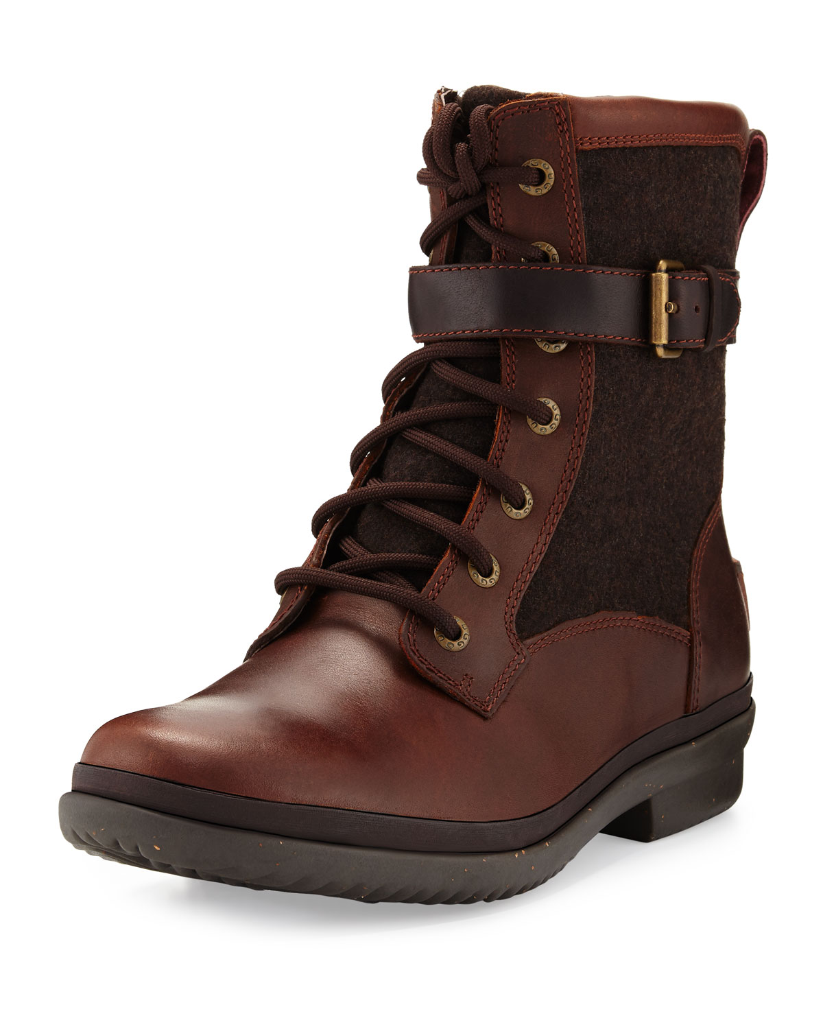 46ed260a54c Kesey Waterproof Combat Boot, Chestnut