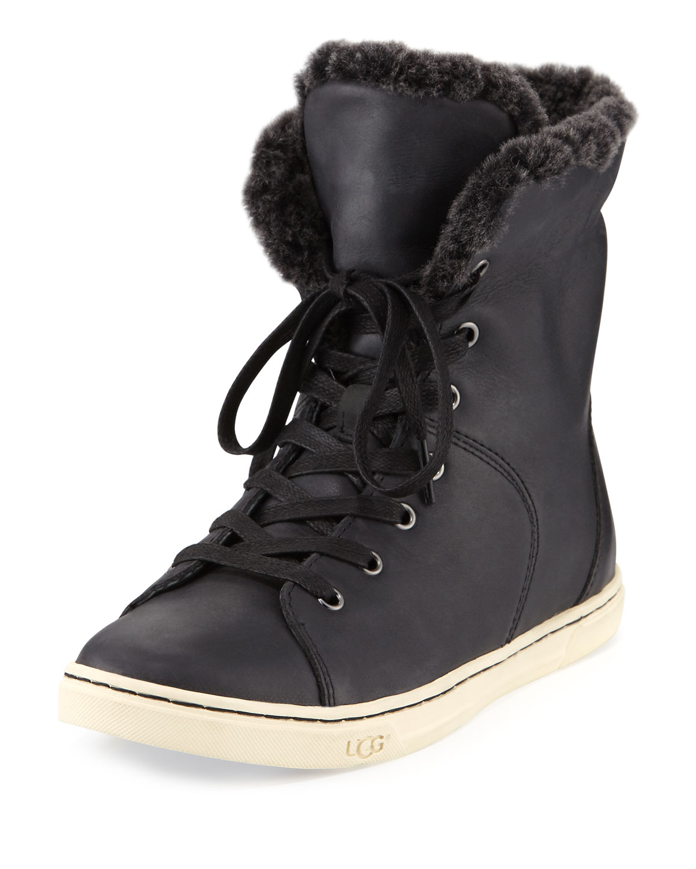 e1d9b59dc24 Croft Luxe Quilt Sneaker, Black