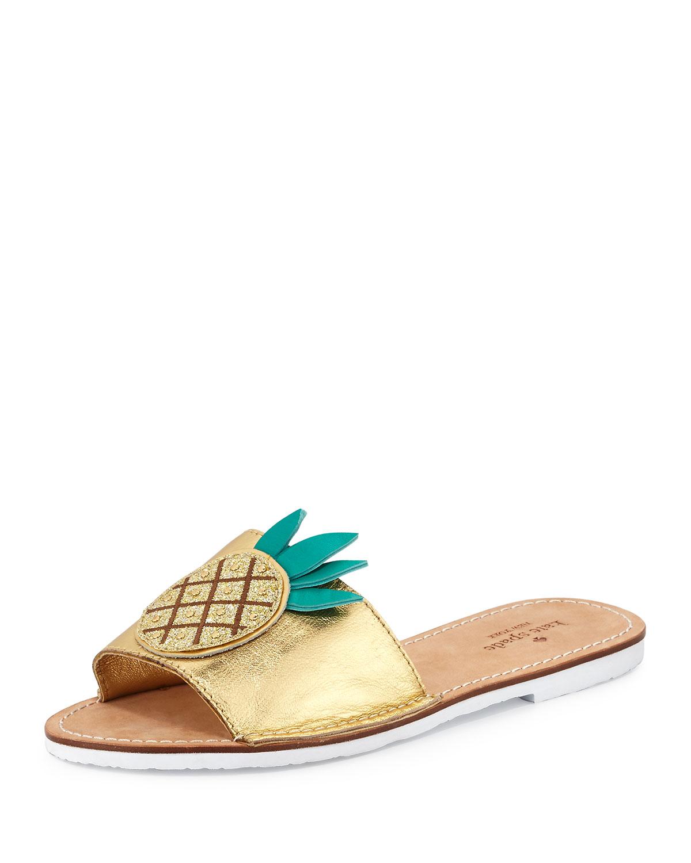 7b657184f745 kate spade new york ibis pineapple slide sandal