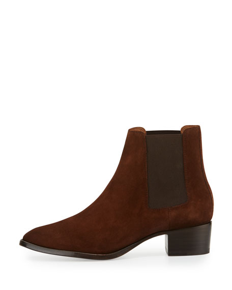 Dara Suede Chelsea Boot, Brown