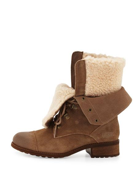 Gradin Convertible Hiker Boot, Dark Chestnut