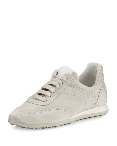 Dylan Suede Sneaker, Gray