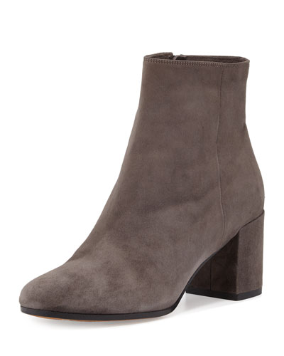 Blakely Suede Ankle Boot, Steel