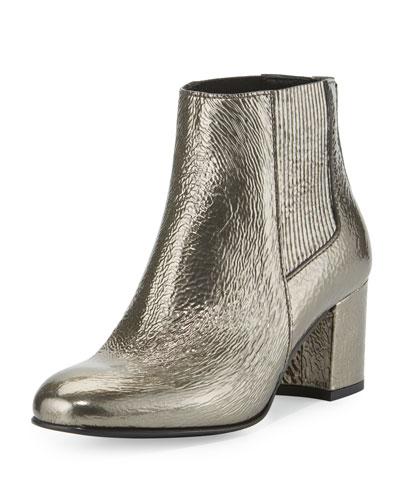 Xolani Metallic Ankle Boot, Rutenio Lumia