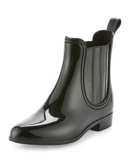 Joie Kada Rubber Rain Bootie, Black